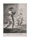 Street Entertainers, Cries of London, 1760 Giclee Print by Paul Sandby