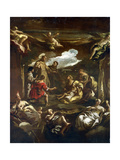 St Anthony of Padua Healing a Young Man, C1654-1705 Giclee Print by Luca Giordano