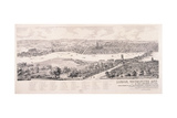 View of London from Southwark, 1543 Giclee Print by Nathaniel Whittock
