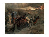 The Village Firemen, 1857 Giclee Print by Pierre Puvis de Chavannes