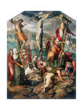 Calvary, Late 16th Century Giclee Print by Pieter Piertsz the Elder