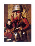 The Game Dealer, 16th Century Giclee Print by Pieter Aertsen