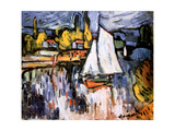 View of the Siene, 1905 Giclee Print by Maurice de Vlaminck