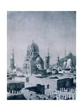 The Tombs of the Caliphs, Cairo, Egypt, 1928 Giclee Print by Louis Cabanes