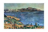 A Marseille, 1883-1885 Giclee Print by Paul Cézanne