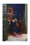 A Prayer to the Madonna, C1877-1912 Giclee Print by Maurice Bompard