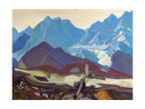 From Beyond, 1936 Giclee Print by Nicholas Roerich