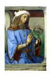 Ptolemy, Alexandrian Greek Astronomer and Geographer, Late 15th Century Giclee Print by Pedro Berruguete
