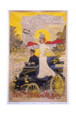 Poster Advertising Car Coachwork, 1899 Giclee Print by Maurice Neumont