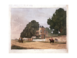 The South Lodge at the Ranger's House, Greenwich, London, 1812 Giclee Print by Paul Sandby