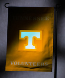NCAA Tennessee Volunteers Light Show Garden Flag Flag
