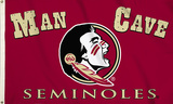 NCAA Florida State Seminoles Man Cave Flag with Four Grommets Flag