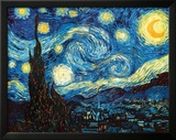 The Starry Night, June 1889 Framed Giclee Print by Vincent van Gogh