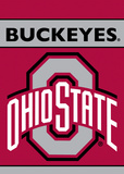NCAA Ohio State Buckeyes 2-Sided Garden Flag Flag