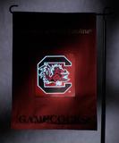 NCAA South Carolina Gamecocks Light Show Garden Flag Flag