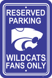NCAA Kansas State Wildcats Parking Sign Wall Sign