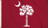 NCAA South Carolina Gamecocks Flag with Grommets Bandera