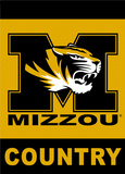 NCAA Missouri Tigers 2-Sided Country Garden Flag Flag