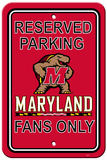 NCAA Maryland Terrapins Parking Sign Wall Sign