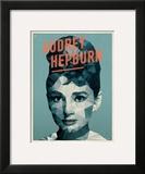 Audrey Hepburn Print by Meme Hernandez