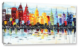 Citylife Gallery-Wrapped Canvas Gallery Wrapped Canvas