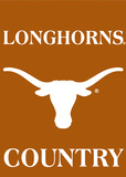 NCAA Texas Longhorns 2-Sided Country Garden Flag Flag