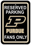 NCAA Purdue Boilermakers Parking Sign Wall Sign
