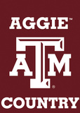 NCAA Texas A&M Aggies 2-Sided Country Garden Flag Flag