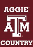 NCAA Texas A&M Aggies 2-Sided Country Garden Flag Flag