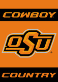 NCAA Oklahoma State Cowboys 2-Sided Country Garden Flag Flag