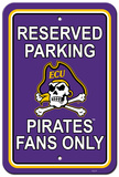 NCAA East Carolina Pirates Parking Sign Wall Sign