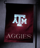 NCAA Texas A&M Aggies Light Show Garden Flag Flag