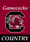 NCAA South Carolina Gamecocks 2-Sided Country Garden Flag Flag