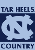 NCAA North Carolina Tar Heels 2-Sided Country Garden Flag Flag