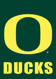 NCAA Oregon Ducks 2-Sided Garden Flag Flag