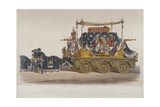 View of the Funeral Car of the Duke of Wellington, 1852 Giclee Print by Richard Redgrave