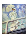 Lady in White, Late 19th Century Giclee Print by Paul Helleu