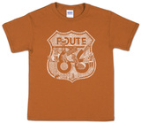 Youth: Route 66 Pics T-shirts
