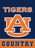 NCAA Auburn Tigers 2-Sided Country Garden Flag Flag
