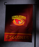 NCAA Iowa State Cyclones Light Show Garden Flag Flag