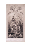 Britannia in Her Chariot, 1790 Giclee Print by Peltro William Tomkins