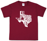 Youth: Everything Is Bigger In Texas Shirts