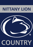 NCAA Penn State Nittany Lions 2-Sided Country Garden Flag Flag