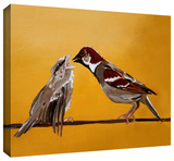 sparrows Gallery-Wrapped Canvas Stretched Canvas Print