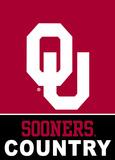 NCAA Oklahoma Sooners 2-Sided Country Garden Flag Flag