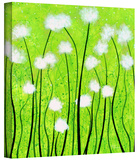 Fuzzy Feeling Gallery-Wrapped Canvas Stretched Canvas Print