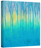 Lagoons Edge Gallery-Wrapped Canvas Stretched Canvas Print