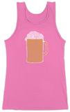 Womens: Beer Tank Top Podkoszulek