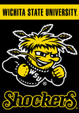 NCAA Wichita State 2-Sided House Banner Flag