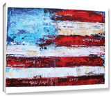 America Gallery-Wrapped Canvas Stretched Canvas Print